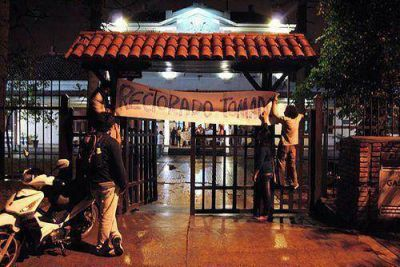 Estudiantes convocan a marcha con motivo de la Asamblea Universitaria