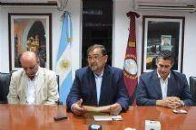 """Intendente Miguel Isa : """"Voy a trabajar con un gabinete reducido, para que haya menos burocracia"""""""