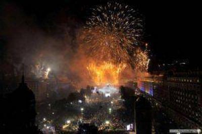 Unas 150.000 personas celebraron los 30 años de democracia