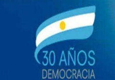 30 años de democracia en Areco