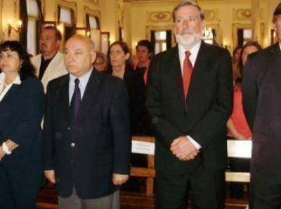 Juraron los nuevos concejales, ante un Sal�n Blanco colmado
