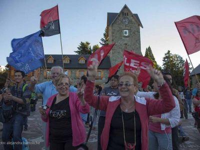 Bariloche también celebró el aniversario de la Democracia