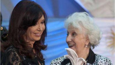 Estela de Carlotto justificó los festejos de anoche en la Rosada con una frase para la polémica