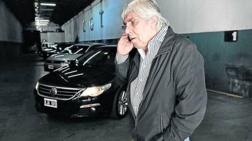 """Moyano cuestionó a los policías y criticó la """"impericia"""" del Gobierno"""