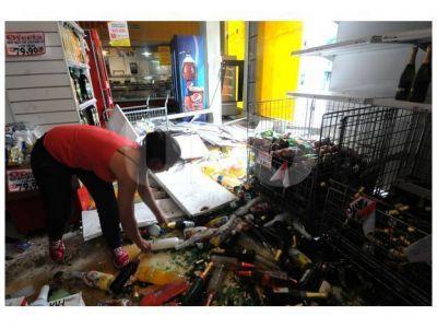 En la provincia, comerciantes valoran daños en $18 millones