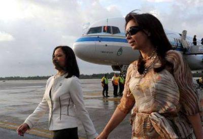 Cristina retoma sus viajes al exterior