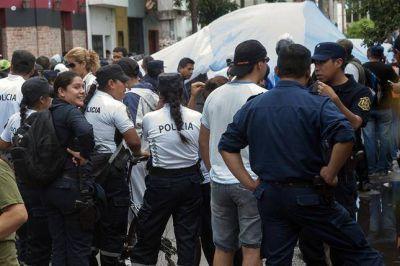 Salta: bajó la adhesión a la protesta policial, aunque sigue el reclamo