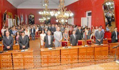 Asumieron los nuevos concejales y el bloque del Frente Renovador cerró filas