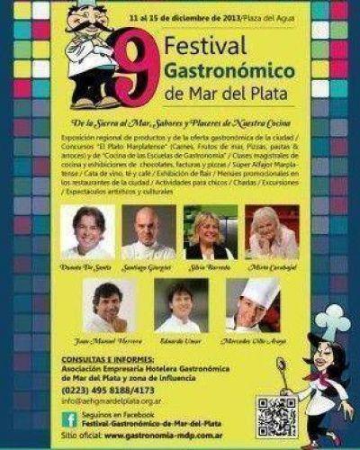Comenzó el 9º Festival Gastronómico de Mar del Plata