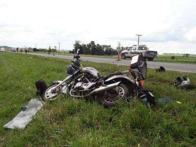 El 81 por ciento de los accidentados en moto no usaban casco
