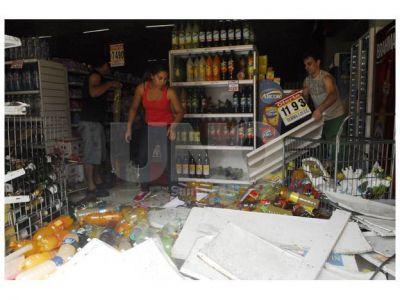 El Municipio anunció medidas para los comerciantes damnificados