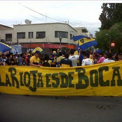 Hinchas de Boca celebraron su día en la Plaza principal