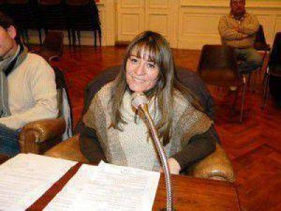 """Analía Maidana: """"yo respeto las ideas de cada uno y espero que se me respete a mí"""""""