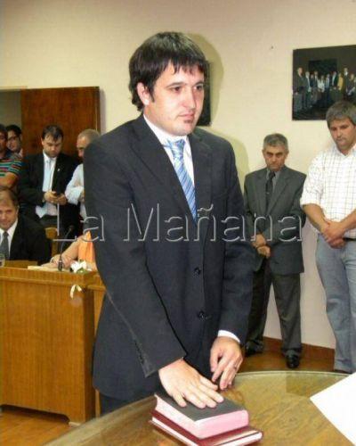 Granillo Fernández encabeza el Deliberativo de Roque Pérez