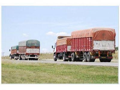 Estiman pérdidas de granos en camiones
