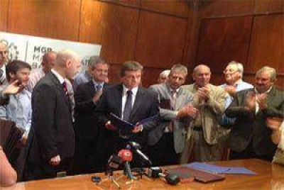 El intendente Pulti presentó los cambios en el Gabinete