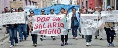 Firman acuerdo en Salta y terminan conflictos con fuerzas policiales