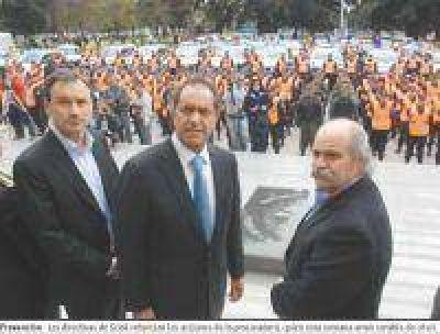 Scioli puso en estado de alerta a la justicia provincial