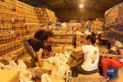 El gobierno distribuir� bolsas navide�as con pan dulce y sidra a toda la comunidad formose�a