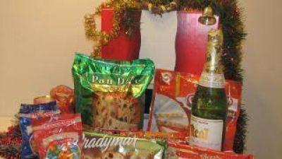 Expectativas por la canasta navideña de $ 39