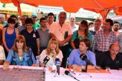 Aída Ayala anunció la licitación de pavimentación de la Av. Edison