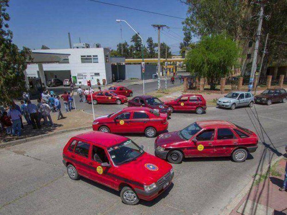 Día clave para los taxistas