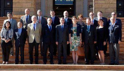 Embajadores de la Unión Europea se reunieron en Mendoza