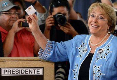 Bachelet es la nueva presidenta de Chile