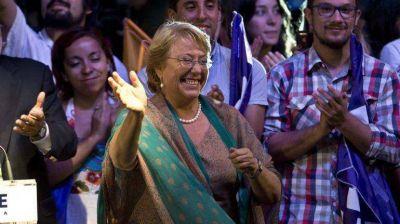 """Michelle Bachelet: """"Chile ha decidido que hay que iniciar transformaciones de fondo"""""""