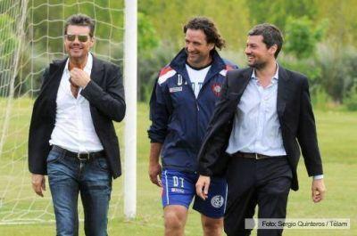 """""""La idea es mantener el plantel y sumar un delantero"""", afirmó Tinelli"""