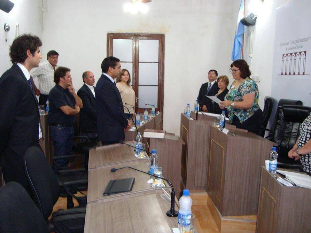 González Espíndola asumió como vicepresidente del Concejo