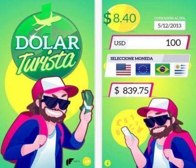 Lanzan una app para calcular el valor del dólar turista