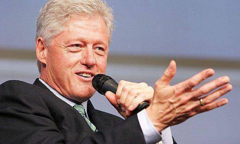 Bill Clinton llegó al país y tendrá un encuentro con Cristina Kirchner
