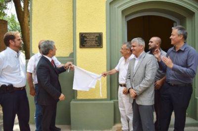 Juan Llerena: inauguraron la obra de provisi�n de agua potable y 600 metros de ciclov�a