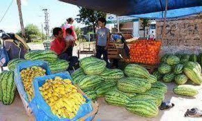 """""""Lácteos para Todos"""" se llevará sandías de Formosa para vender en el pais"""