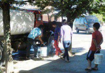 La falta de agua volvió a golpear a la Comarca