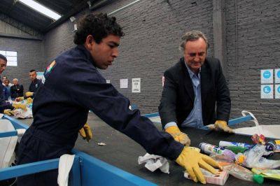 San Miguel realiz� su primera venta de material reciclable