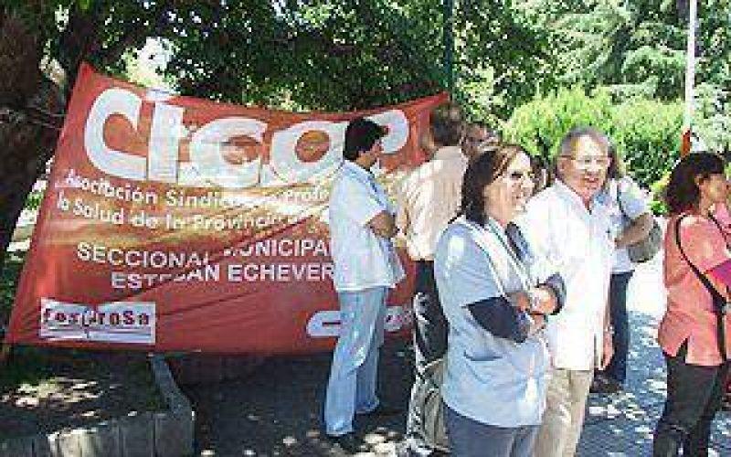 CICOP volvió a reclamar por salarios y la situación del Santamarina