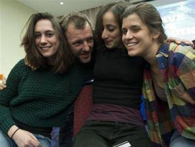 Amnistiaron a los activistas de Greenpeace y podrán pasar las Fiestas en casa