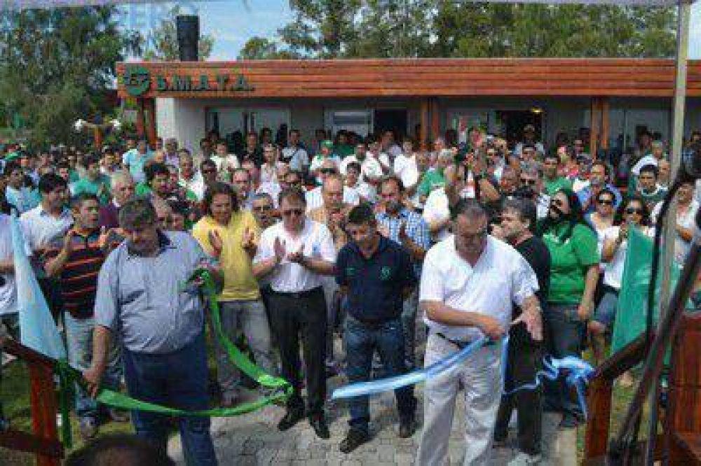 SMATA inauguró el Club de Pesca de Baradero