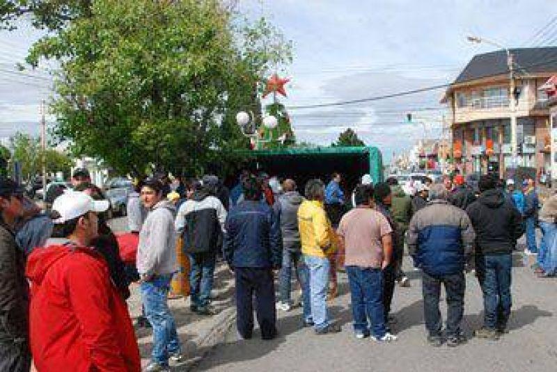 Reunión entre el Municipio y UOCRA