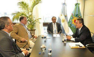 Scioli puso en funciones al nuevo presidente del Consorcio de Gestión del Puerto de Quequén