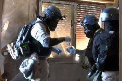 Siria llegó a 2013 con un récord de muertos y el desarme químico