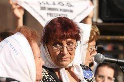 Para una madre de Plaza de Mayo, con el ascenso de César Milani, volvió la Obediencia Debida