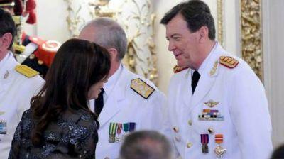 Cristina oficializó el ascenso de Milani como Jefe del Ejército
