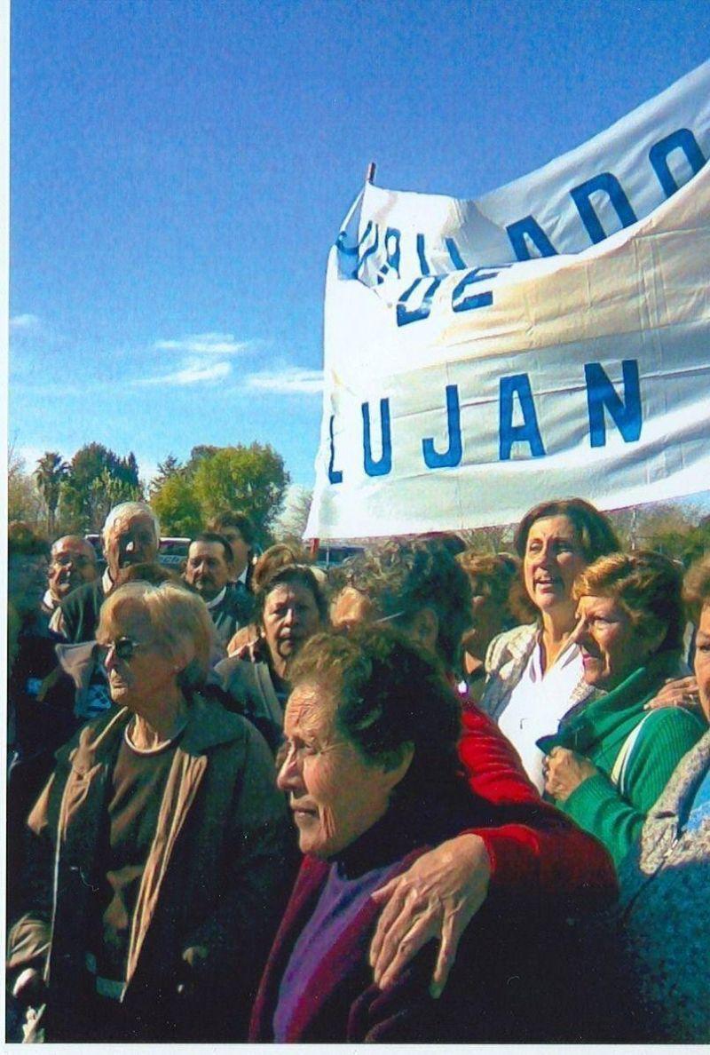Lujan - 50 ABUELOS DE LUJÁN VISITARON LA QUINTA DE SAN VICENTE JUNTO A LA INTENDENTA
