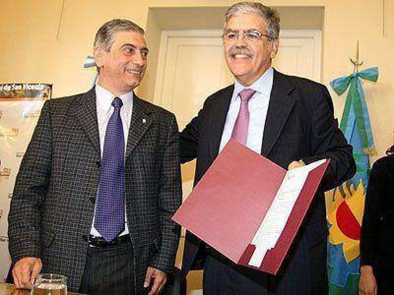SAN VICENTE | ELECCIONES    Junto a Di Sabatino, De Vido anunció obras por 100 millones