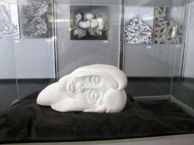 La muestra del taller de Artes Visuales se inauguró con obras de alto nivel