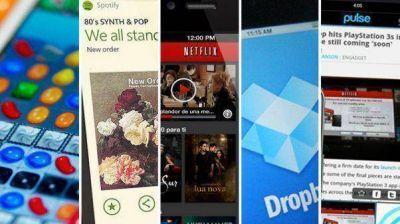 Las mejores aplicaciones para móviles de 2013