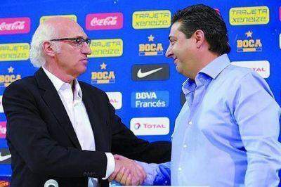 Bianchi y Angelici, en la misma sintonía para el Boca 2014